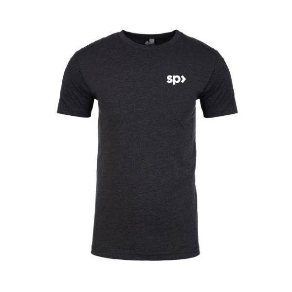 SupplementPass™ Logo Tee - Charcoal
