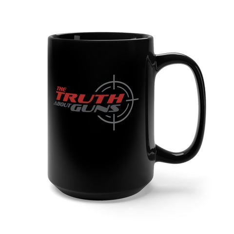 TTAG High Capacity Black Coffee Mug (15oz)