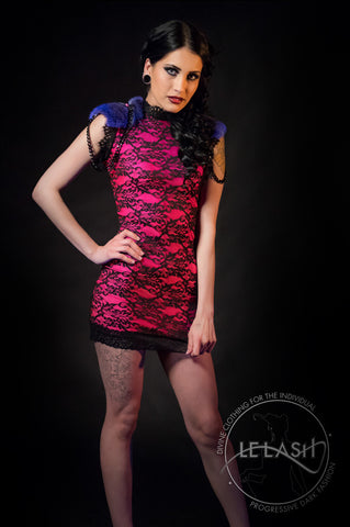 Neon Amaryllis Dress