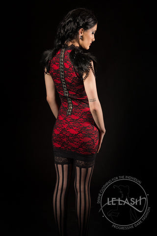 Blood Amaryllis Dress