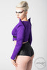 Vanta Black Crop - Purple