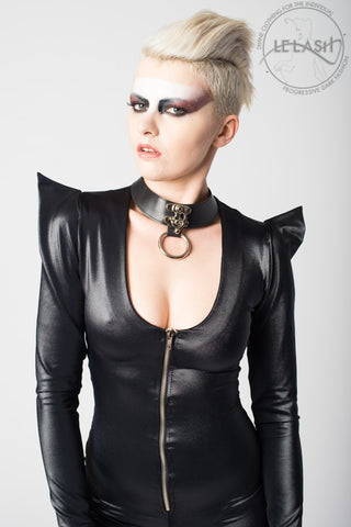 Vanta Black Latch Choker