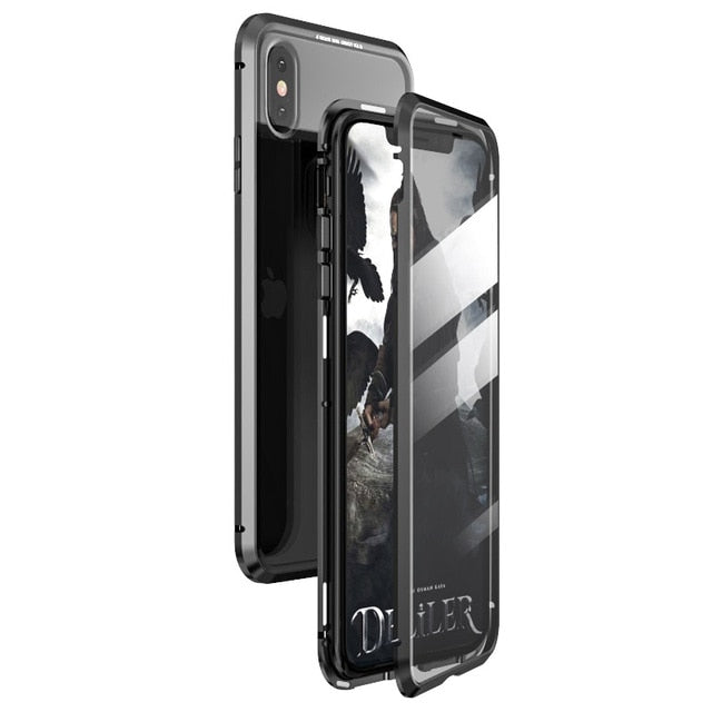 Anti-peep Magnetic Phone Case (Double Side)