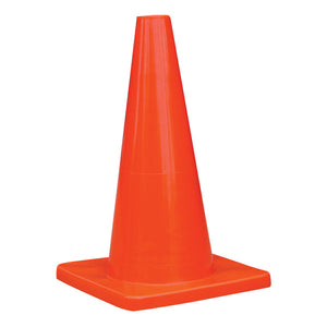 "Pack of 6 - TruForce 18"" Traffic Cone, 2 lb"