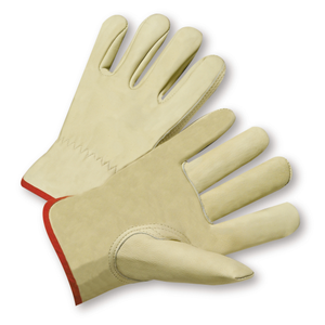 12 Pairs - West Chester Select Grain Cowhide Driver Gloves - Keystone Thumb - Small up to 5XL