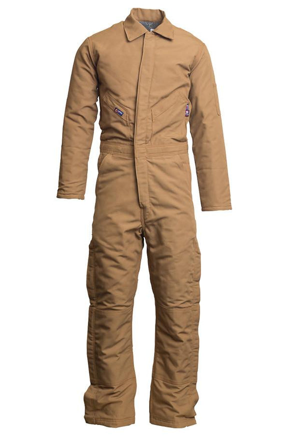 Lapco 12oz. FR Insulated Coveralls  - 100% Cotton Duck