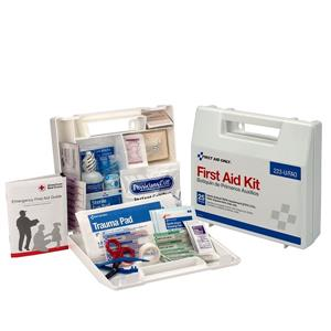 Pack of 12 First Aid Only Brand 25 person/107 piece First Aid Kit