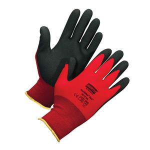 Reduce Hand Injury Caseswith North® NorthFlex Red™ Foam PVC Gloves