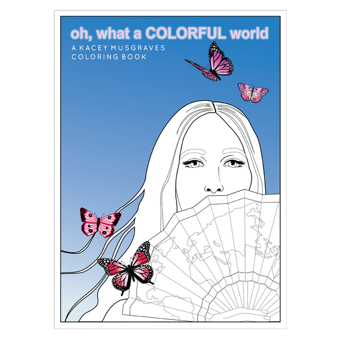OH, WHAT A COLORFUL WORLD COLORING BOOK