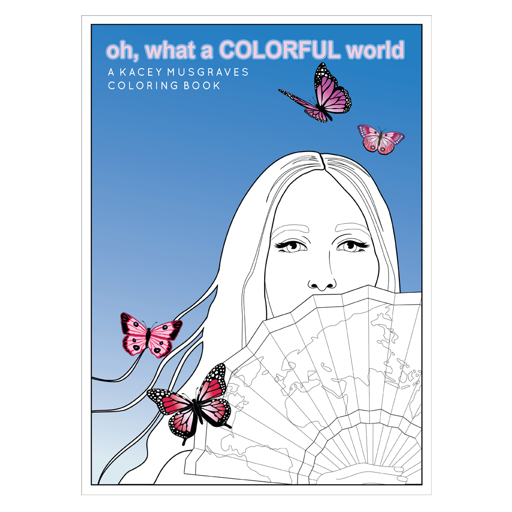 OH, WHAT A COLORFUL WORLD COLORING BOOK - PRE-ORDER