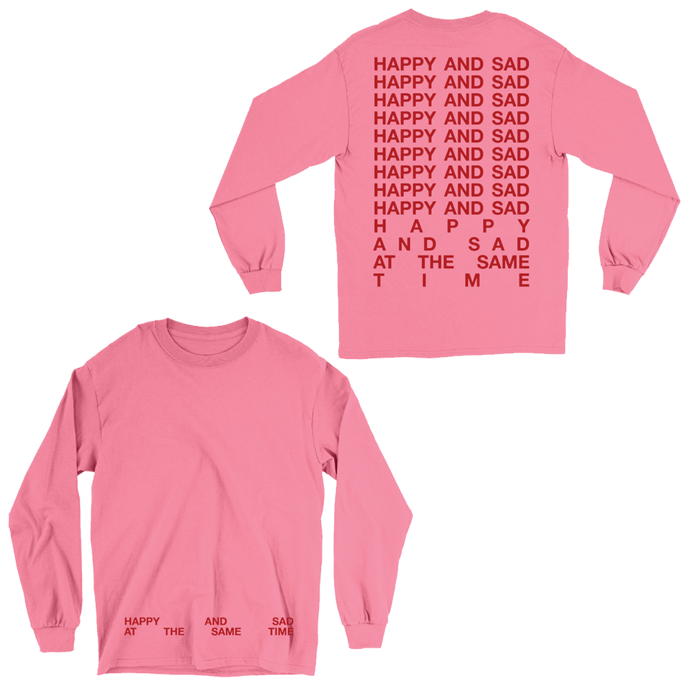 HAPPY & SAD LONG SLEEVE TEE