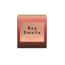KM + BOY SMELLS SLOW BURN CANDLE