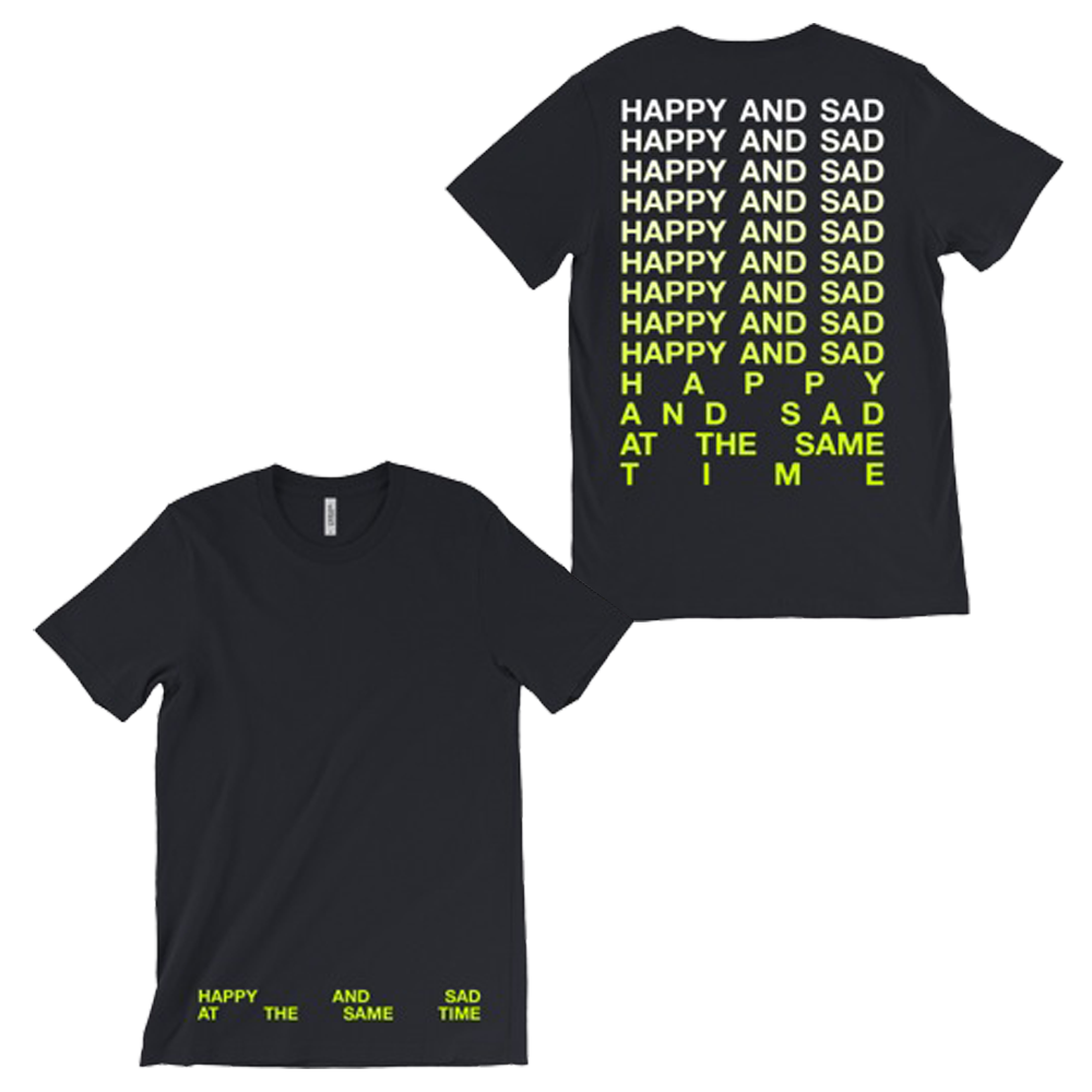 HAPPY & SAD GRADIENT TEE