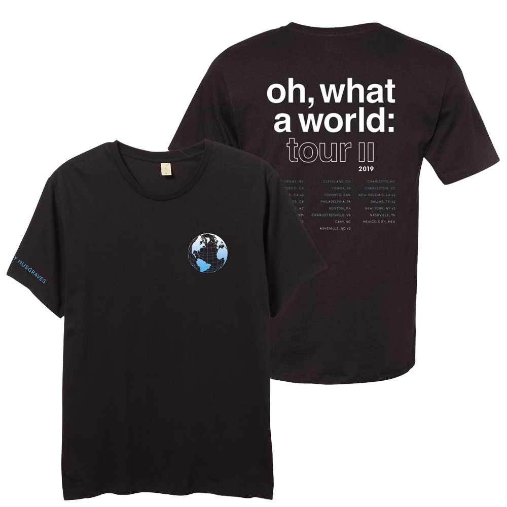 2019 OH, WHAT A WORLD II TOUR TEE