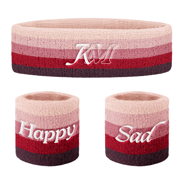 HAPPY & SAD SWEATBAND SET