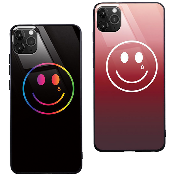 LIGHT-UP HAPPY & SAD IPHONE CASE - PRE-ORDER