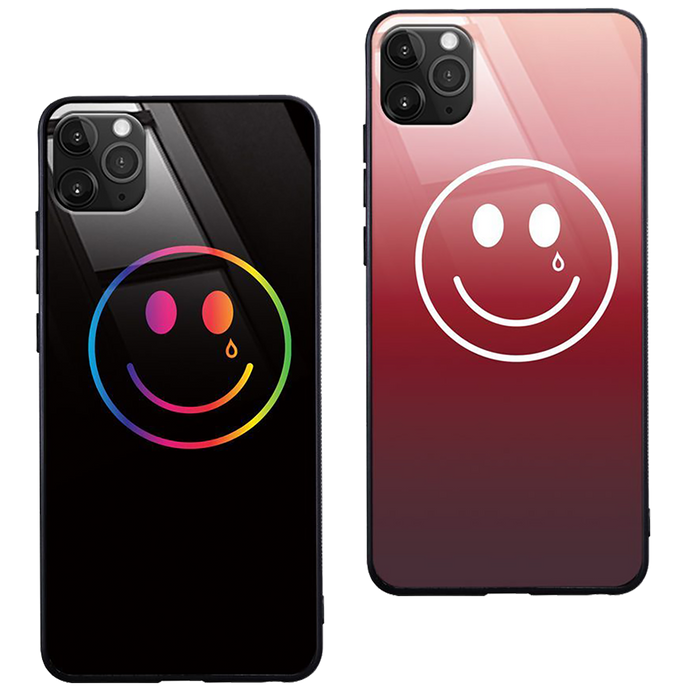 LIGHT-UP HAPPY & SAD IPHONE CASE