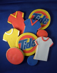 Tide Logo Cookies