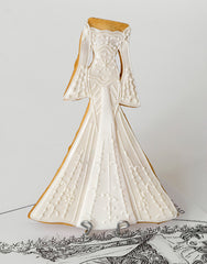 Zuhair Murad Wedding Dress Inspired Cookie