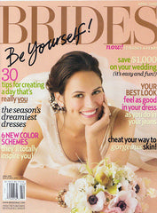 Brides Magazine April 2010 Cover