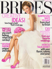 Brides Magazine July-Aug 2008 Cover