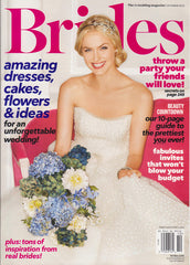 Brides Magazine October 2012 Cover