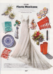 Brides Magazine October 2012 Feature - Day of the Dead Cookies