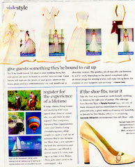 InStyle Weddings Winter 2007 Feature