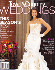 Town Country Wedding Fall Winter 2008 Cover
