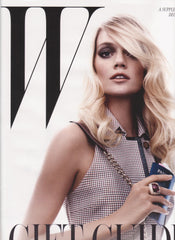 W Magazine Gift Guide Cover - December 2012