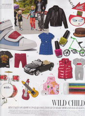 W Magazine Gift Guide - LA Child Feature - December 2012