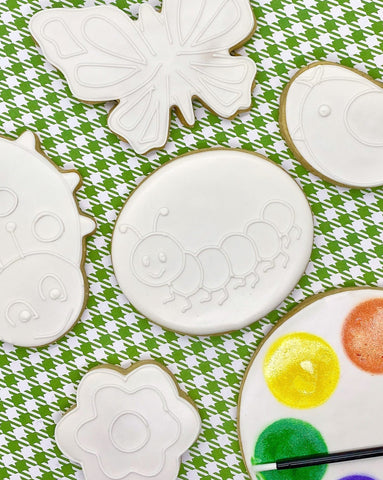 Paint Your Own Spring Cookie Decorating Kit