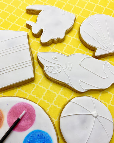 Paint Your Own Summer Cookie Decorating Kit