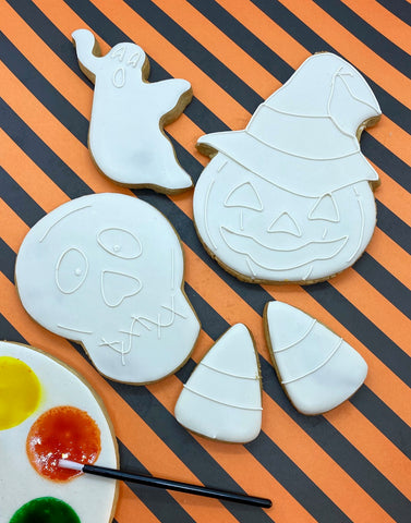 Paint Your Own Halloween Cookie Decorating Kit