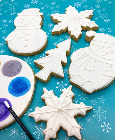 Paint Your Own Winter Cookie Decorating Kit