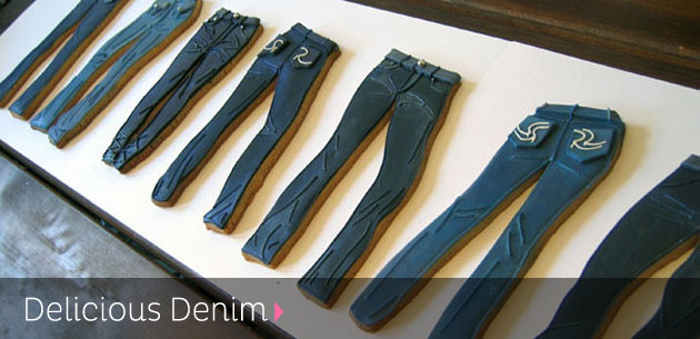 Delicious Denim Jean Cookies
