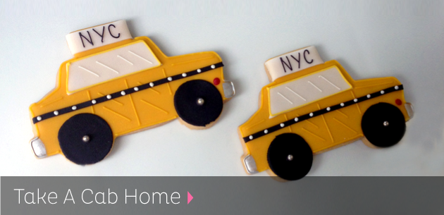 Taxi Cab Cookies