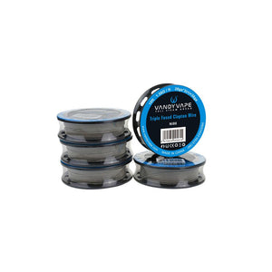 Vandyvape Triple Fused Clapton Wire Ni80 (28ga*3+38ga)(VW.0051)