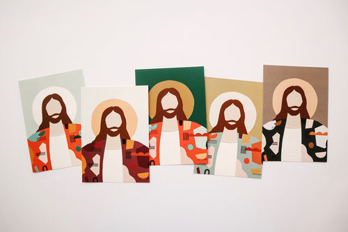 Abstract Christ Prints