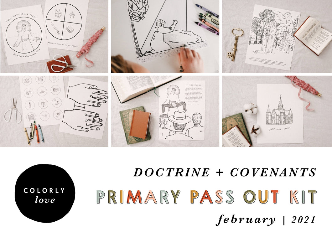 Primary Pass Out Kit: February 2021