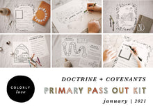Load image into Gallery viewer, Primary Pass Out Kit: January 2021