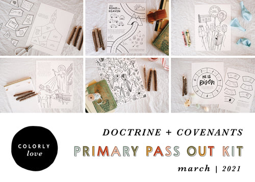 Primary Pass Out Kit: March 2021