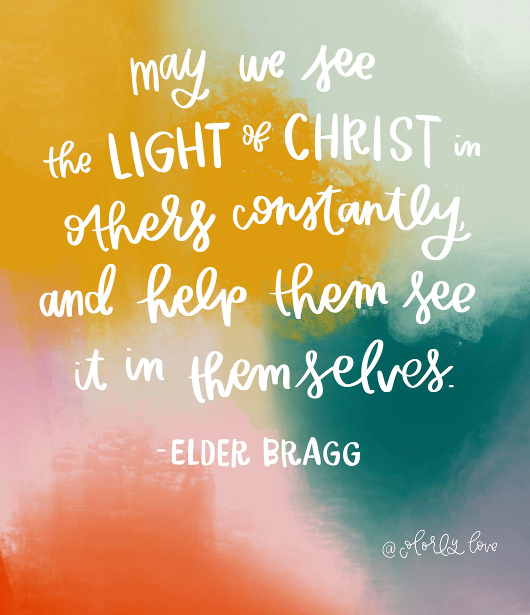 Elder Bragg Quote