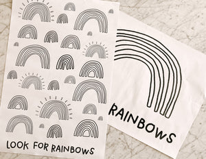 Look For Rainbows Big Pages