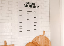 Load image into Gallery viewer, Book of Mormon Reading Chart
