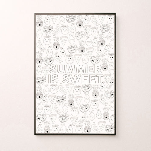 Summer is Sweet Big Page
