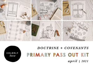 Primary Pass Out Kit: April 2021