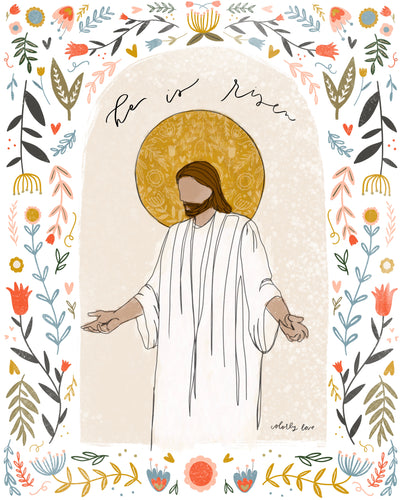 He Is Risen 8x10 Prints