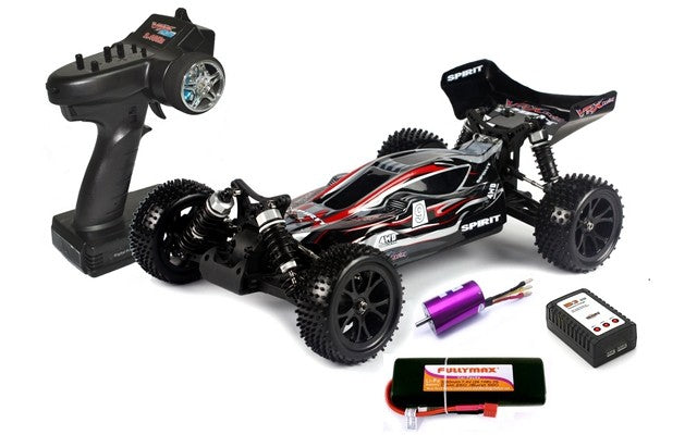 1/10 R/C Spirit EBL RTR Brushless Electric Buggy (Black/Red)