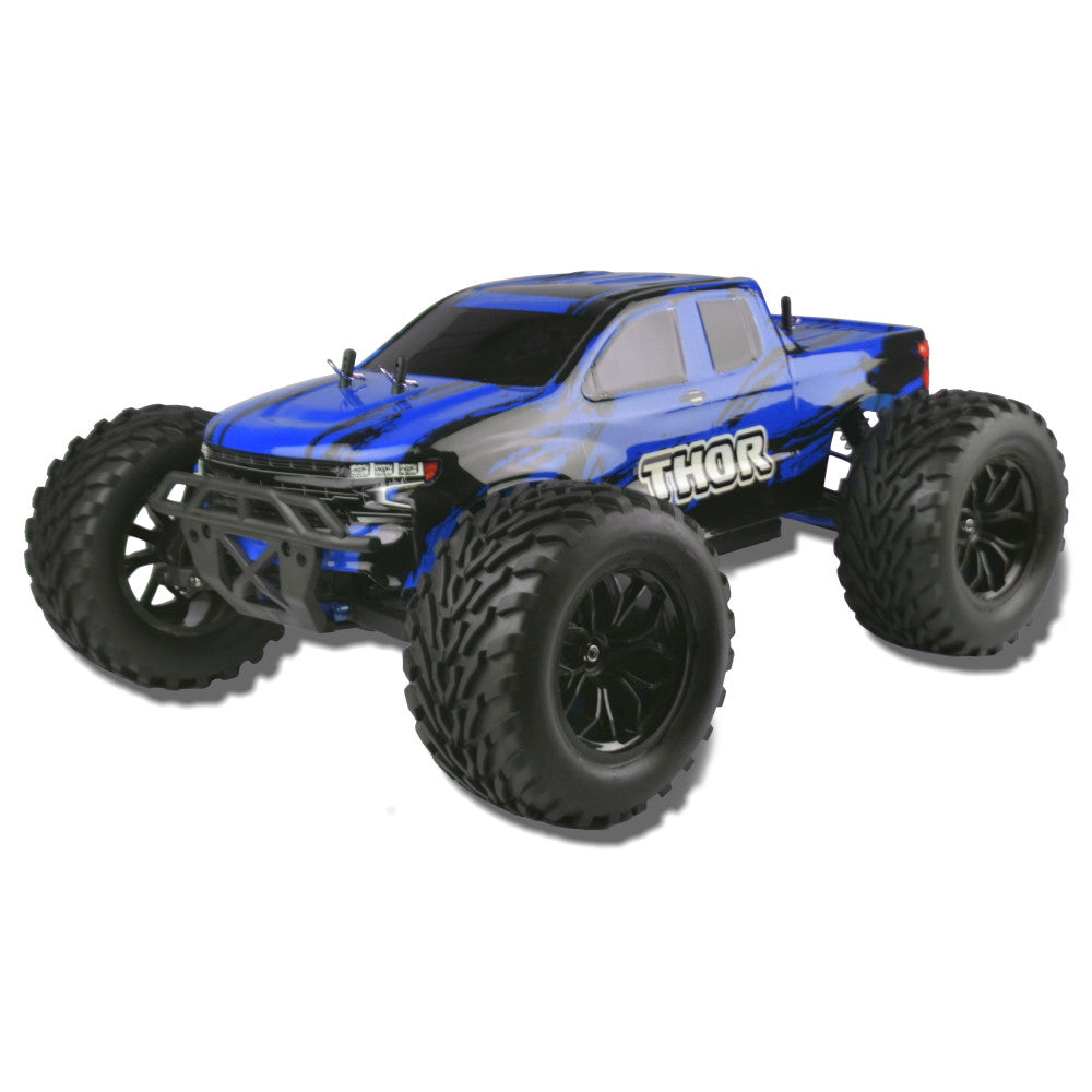1/10 R/C Sword Brushed Electric Mega Truck (Blue/Black)